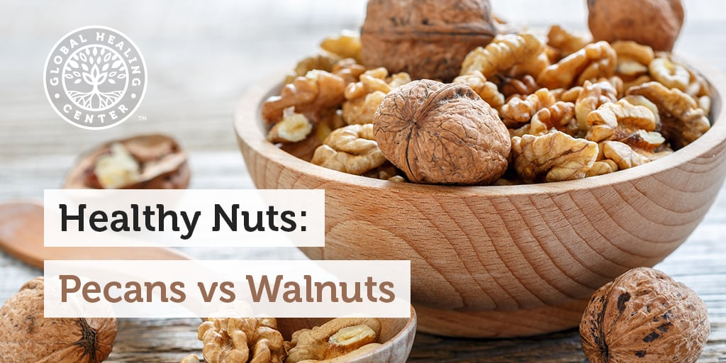 Health Nut? Comparing Health Benefits of Pecans & Walnuts