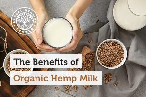 Hemp milk is loaded with vitamins and minerals.