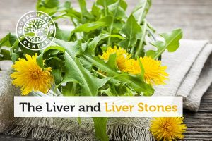 Dandelion leaf can help with liver stones by cleansing the liver.