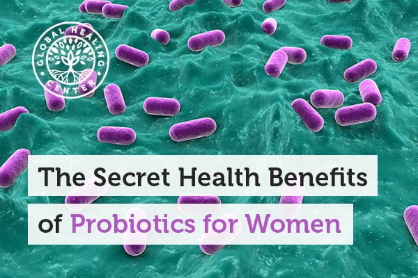 Particular strains of probiotics are beneficial for women.