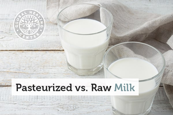 Raw milk is a healthier option than a pasteurized milk.