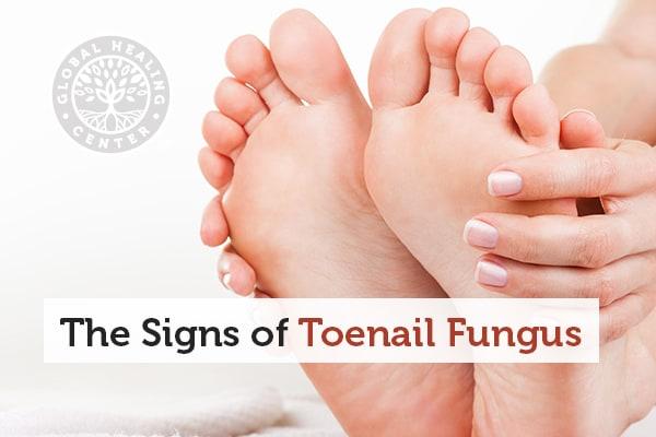 Pain in the infected nail is one of many signs of toenail fungus.