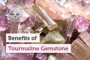 Tourmaline gemstone can help eliminate toxic metals.