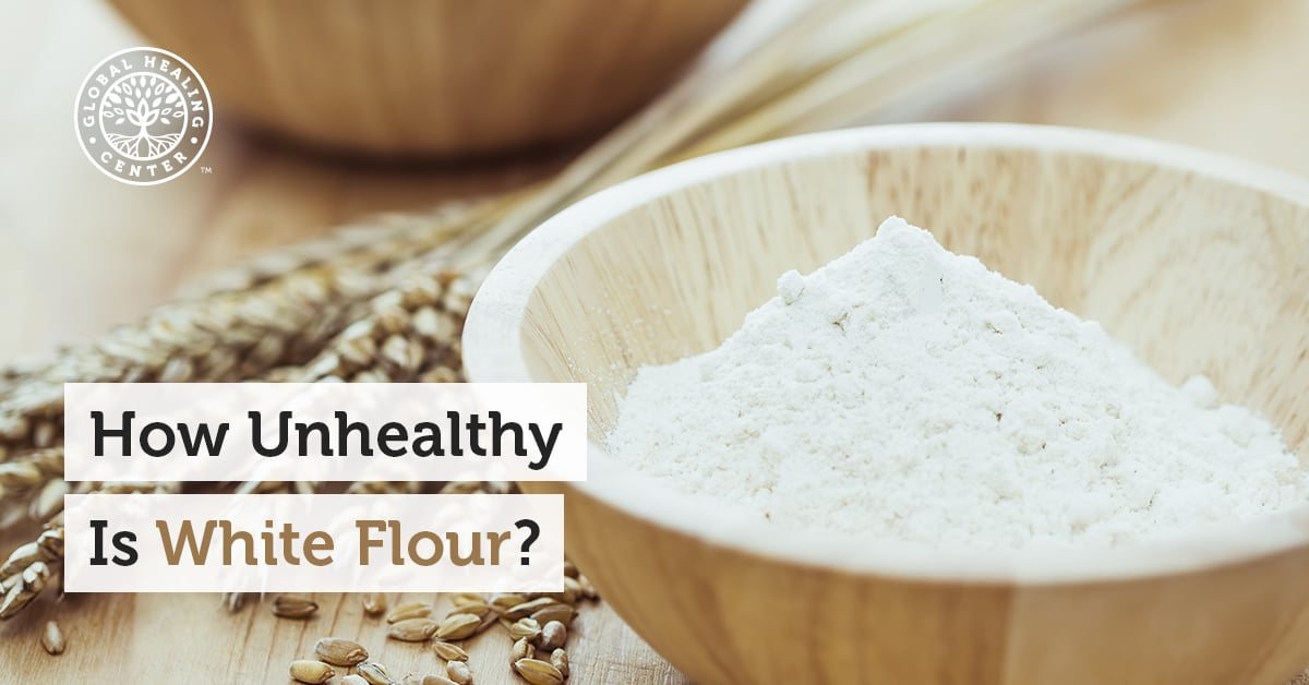 How Unhealthy Is White Flour