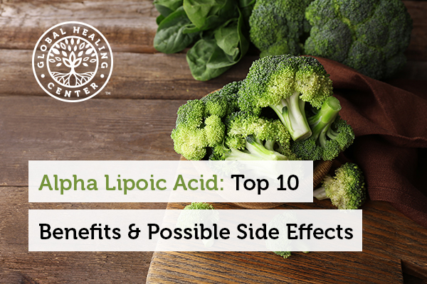 Alpha lipoic acid can be found in foods like broccoli.