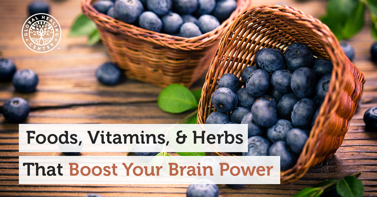 Foods Vitamins Amp Herbs That Boost Your Brain Power