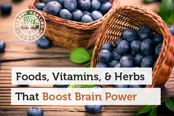 Blueberry can help boost brain power.
