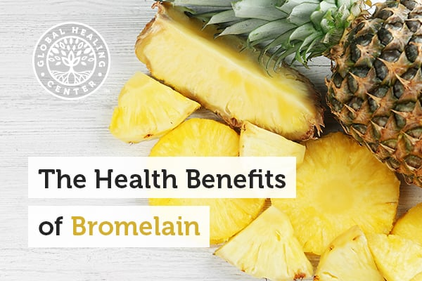 Bromelain is a protein-digesting enzyme that is found in pineapples.