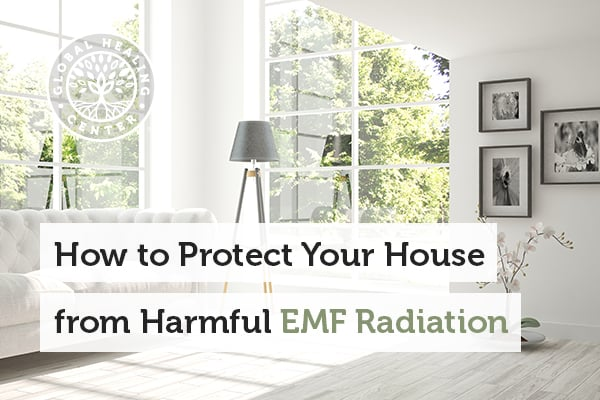 A window room. Shield fabrics can offer protection against EMf radiation.