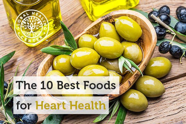 Olives are one of best foods for heart health.