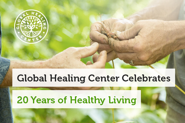 Global Healing Center Celebrates 20 Years of Healthy Living