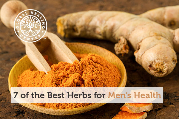 Turmeric is one of the best herbs for men's health.