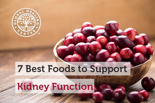 Cranberries are one of many foods that support kidney function.