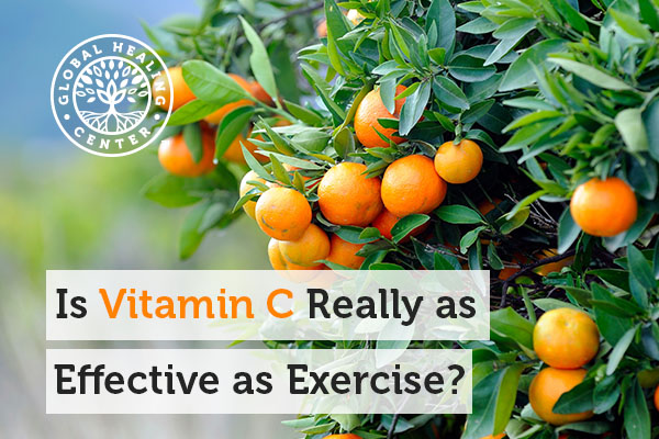 Studies show that vitamin C could promote similar heart effects comparable to exercising.