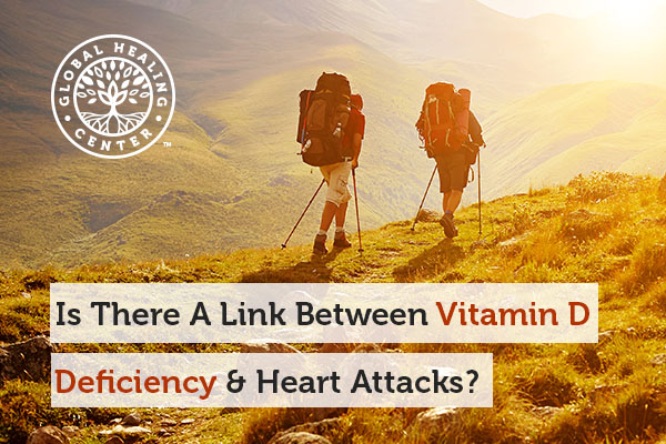 Studies show that Vitamin D deficiency can possibly lead to a heart attack.