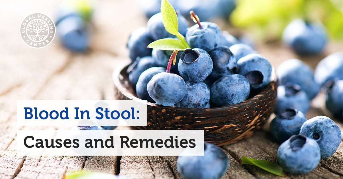 blood in stool causes and remedies