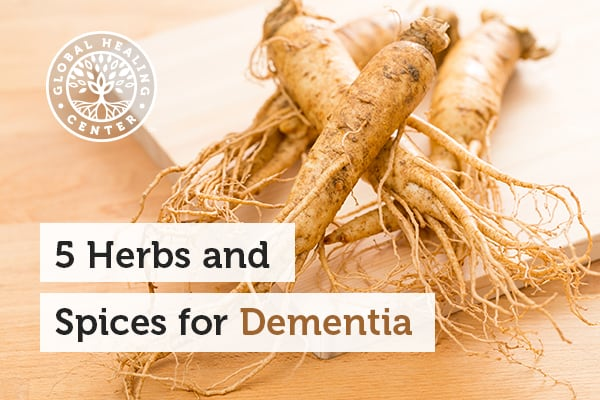 Herbs like ginseng and other spices can help reduce the chances of dementia.