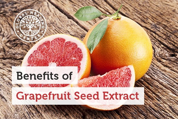 Grapefruit seed extract encourages heart health and helps wounds heal.