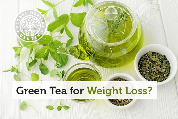 Green tea contains antioxidants known as catechins which can help with weight loss.