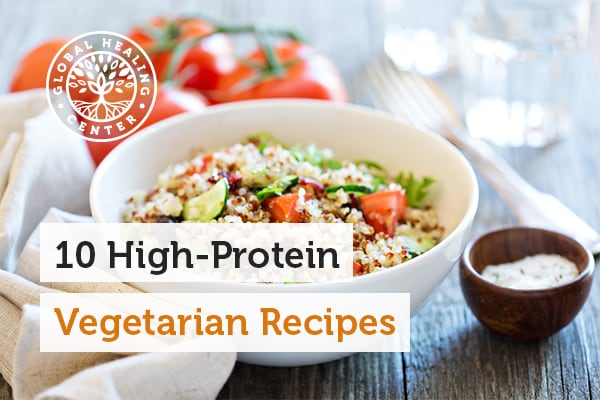 Quinoa is one, super simple to make, high protein vegetarian recipe anyone enjoy.