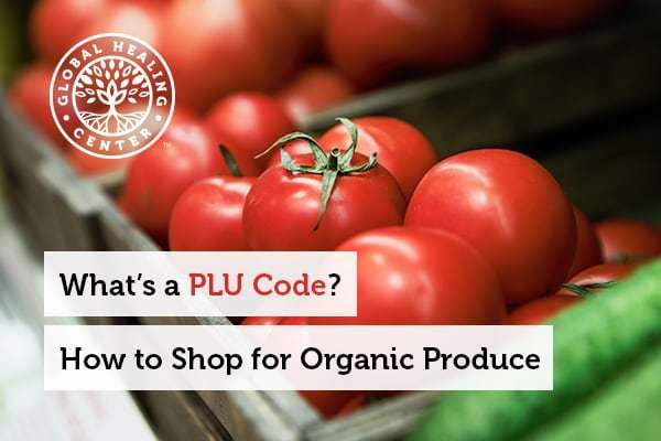 A bucket of tomatoes. Grocery stores use PLU code to manage their inventory of produce.