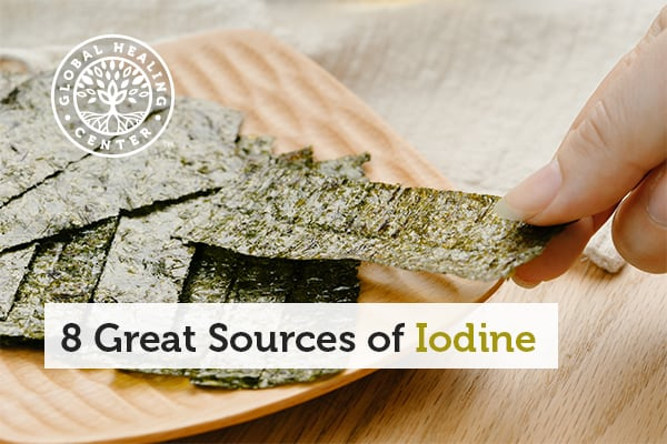 Nori is an excellent source of iodine.