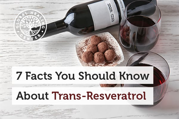 A plate of chocolate and bottle of wine. Trans-resveratrol is a unique antioxidant that can be found in chocolate.