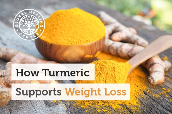 Studies show that 1.5 milligrams of turmeric daily can help with weight loss.