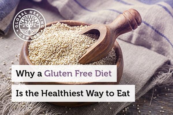 Millet is part of the gluten free diet.