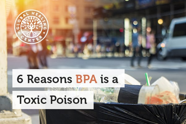 BPA is a synthetic toxic compound that can be found in plastic items.