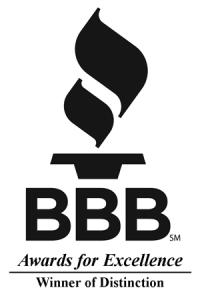 Better Business Bureau Award of Excellence