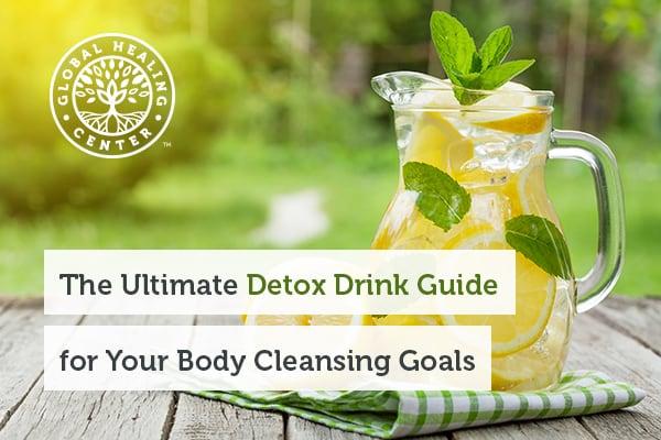 Lemon water is a popular detox drink.