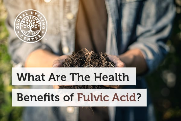 Fulvic acid occurs naturally in humus, a composting plant material used by nature.