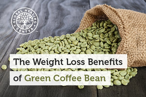 One of the health benefits of the Green coffee bean is weight loss.