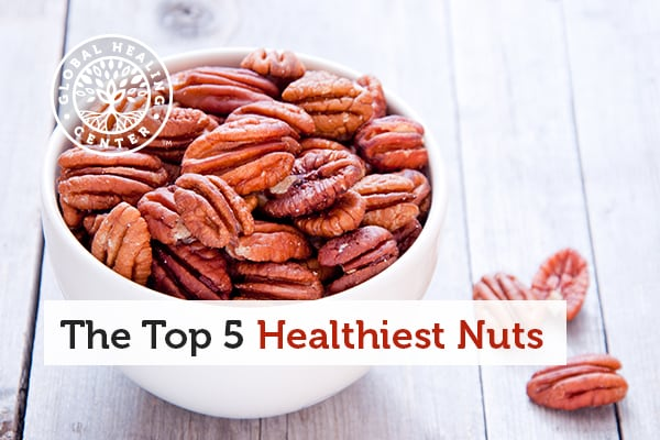 Pecan is one of the healthiest nuts you can eat.