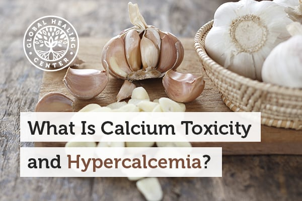 Garlic can help with hypercalemia and other health issues such as calcium toxicity.