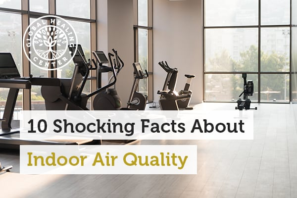 Indoor air quality ranks as top 5 environmental risks to public health.