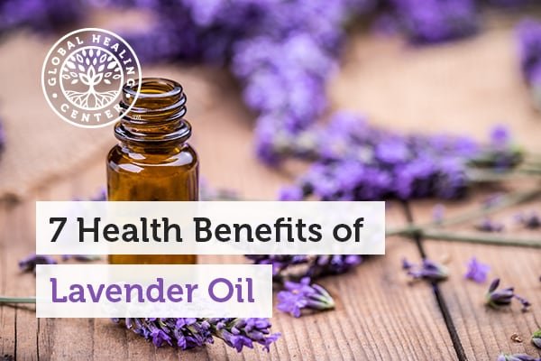 Lavender oil helps alleviate anxiety and promote restful sleep.