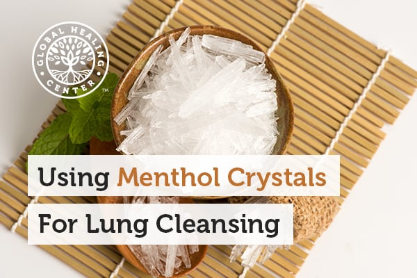 Menthol crystals can be used for coughs and congestion support.