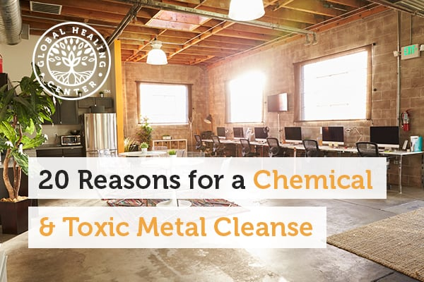 An open floor room. Performing toxic metal cleanse can help decrease the risk of getting sick.