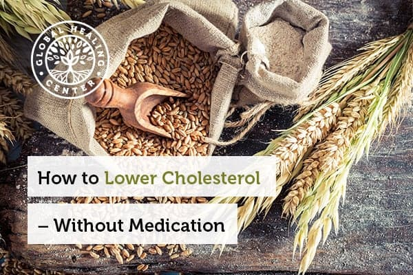 Whole grains can help lower cholesterol