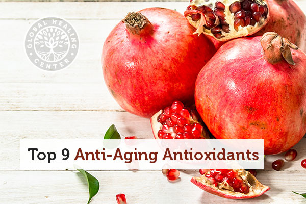 Pomegranate extract is one of many anti-aging antioxidants.