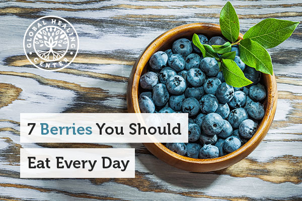 Blueberries are one of many berries you should eat every day.