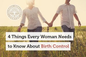 Couples are walking. Birth control may interfere with natural detoxification.