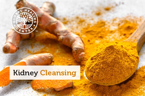 Turmeric is part of the kidney cleanse diet.