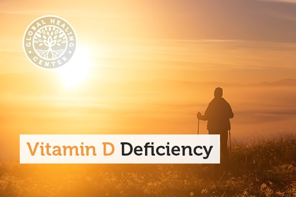 Getting enough sunlight, can help with vitamin D deficiency.