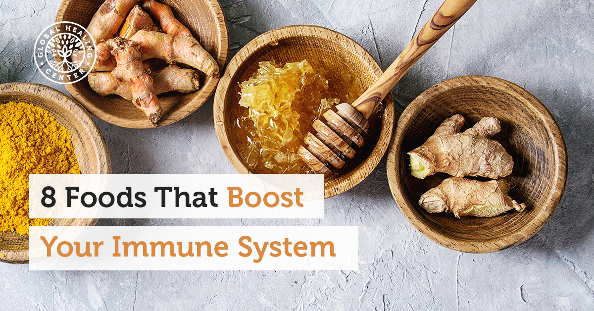 8 Foods That Boost Your Immune System