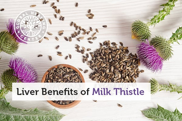 Milk thistle can help detox the liver.