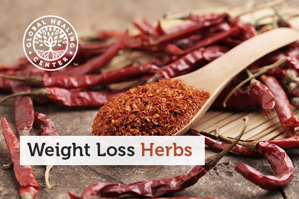 Cayenne pepper is one of many weight loss herbs and spices.