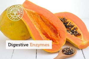 Papaya contains papain, a digestive enzyme, which can reduce swelling and heartburn.